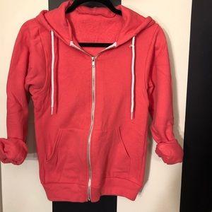 American Apparel zip up sweatshirt